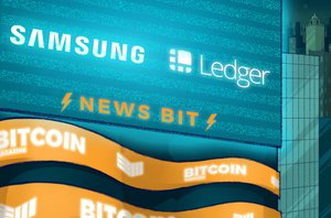 Samsung Invests $2.9 Million in Crypto Wallet Manufacturer Ledger