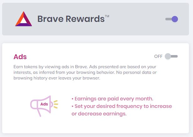 Get Paid Basic Attention Tokens (BAT) to View Ads with New Brave Browser Update
